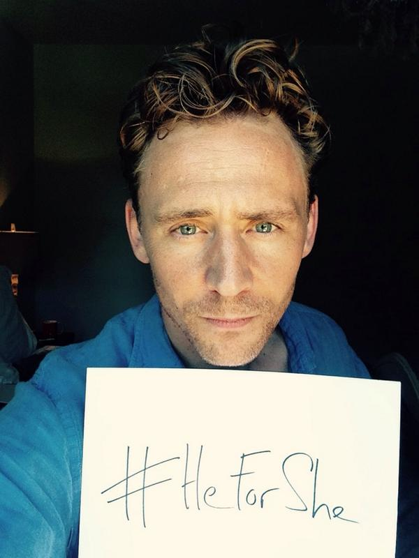 Tom Hiddleston, HeForShe, UN
