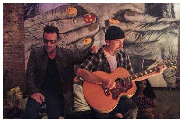 U2, Bono, Edge
