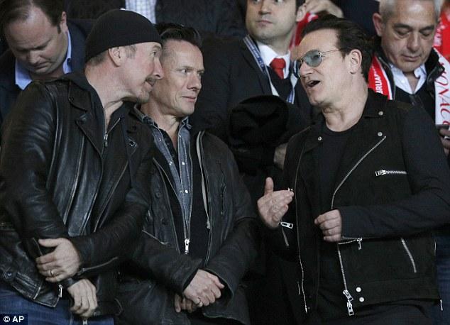 U2, Bono, Edge, Larry Mullen Jr