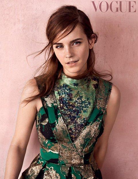 Emma Watson, British Vogue