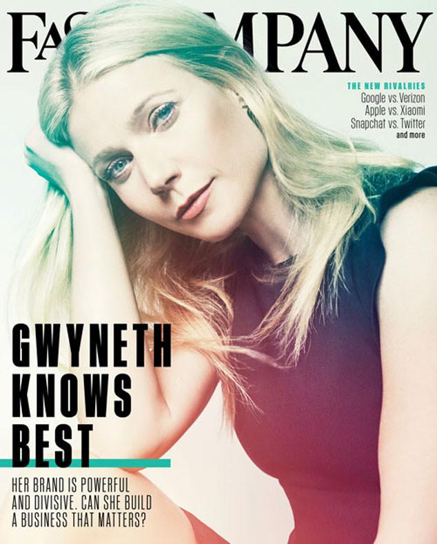 Gwyneth Paltrow, Fast Company