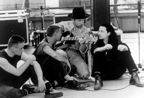 U2, Bono, Edge, Adam Clayton, Larry Mullen Jr