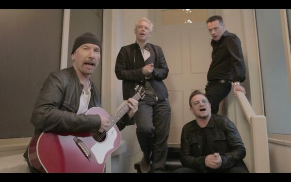 U2, Bono, Edge, Adam Clayton, Larry Mullen Jr