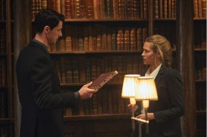 Matthew Goode, Matthew Clairmont, Teresa Palmer, Diana Bishop, A Discovery of Witches