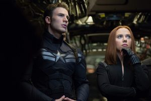 Scarlett Johansson, Natasha Romanoff, Black Widow, Chris Evans, Steve Rogers, Captain America the Winter Soldier