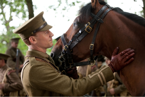 Tom Hiddleston, War Horse, Capt. Nicholls
