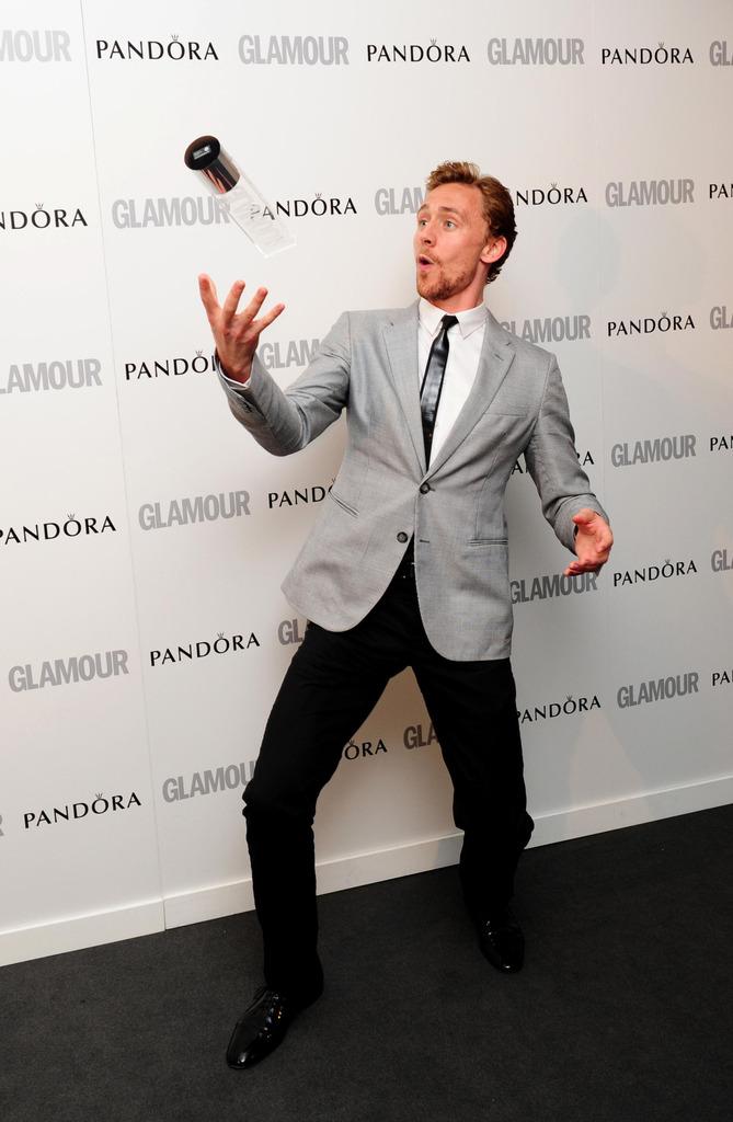 Tom Hiddleston, Glamour Women of the Year Awards