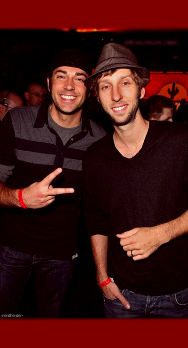 Zachary Levi, Joel David Moore